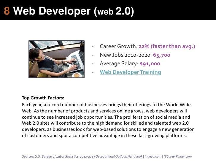 8 web developer  web 2 0
