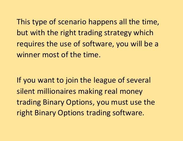 Binary options good way to make money