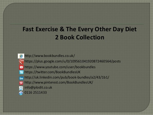 the every other day diet 2 book collection httpwwwbookbundlescouk https