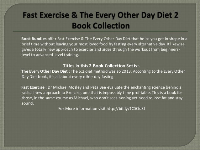 Krista Varady & Michael Mosley Fast Exercise & The Every Other Day Di…