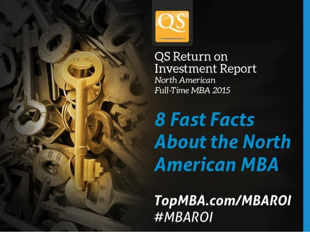 8 Fast Facts About the North American MBA