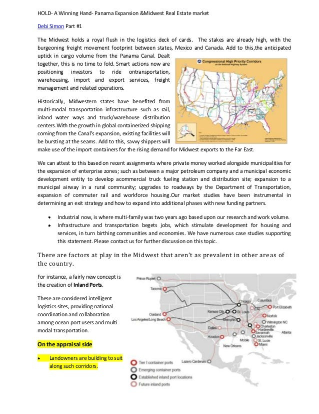 Fast facts on the panama expansion and how it affects the midwest rea…