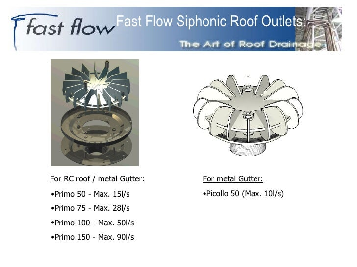 Fastflow Siphonic Systems