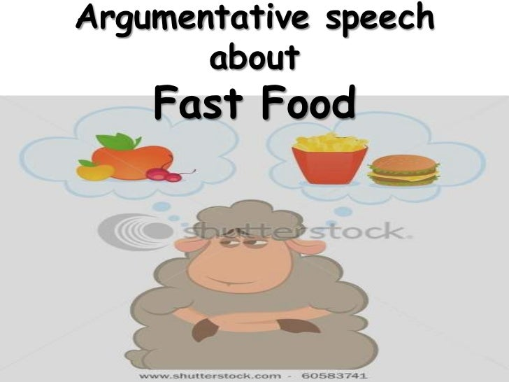 argumentative essay about fast food