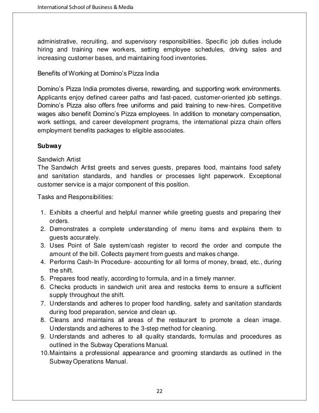 mcdonalds company description We reference our commitment to respect human rights in the mcdonald's  supplier code of conduct and the company's standards of business conduct  pages 2.
