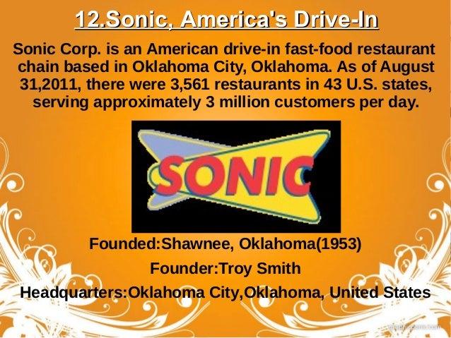 Fast Food Restaurants In Shawnee Oklahoma