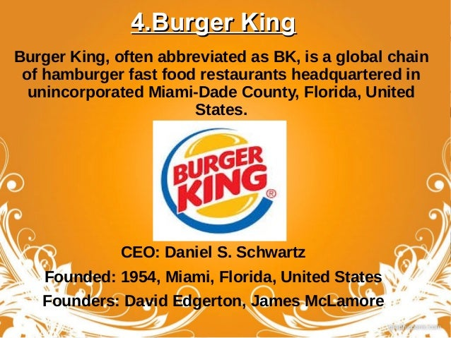 Best Florida Fast Food Chains