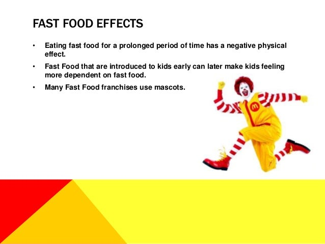 effect fast food health essay