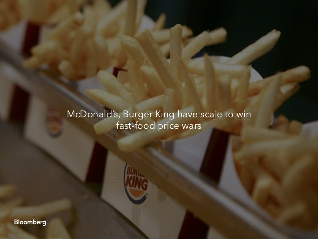 In fast food wars, scale matters Slide 2