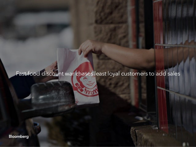 Fast-food discount war chases least loyal customers to add sales