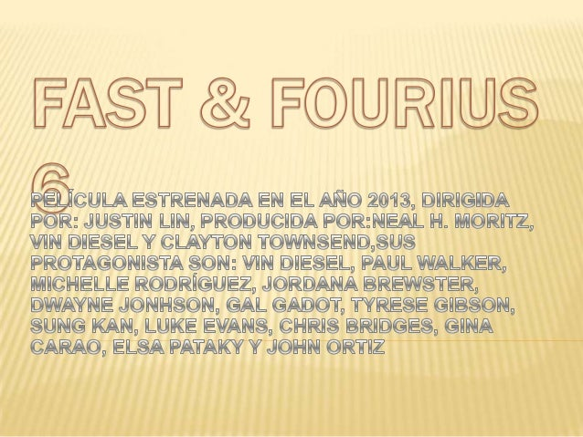 Fast & f ourius 6