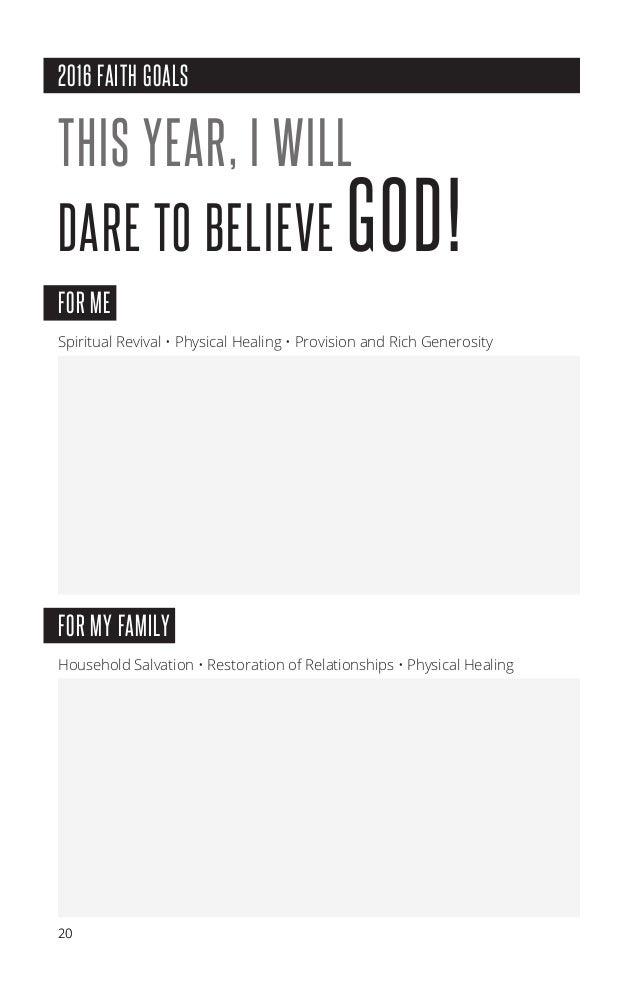 Victory Church Prayer&Fasting manual 2016