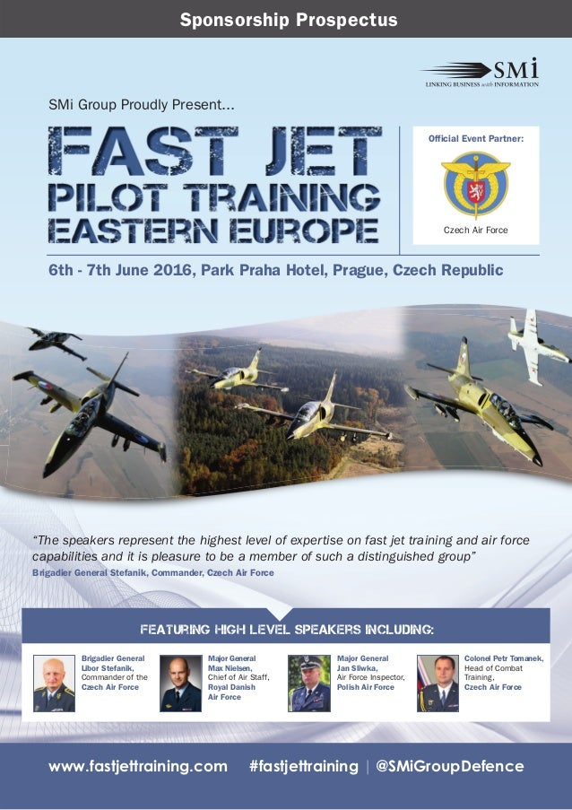 SMi Group's Fast Jet Pilot Training Eastern Europe 2016