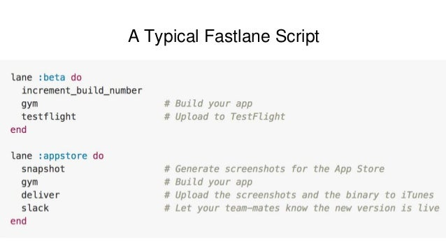 The Mobile ToolChain with Fastlane - Code Red Talk at RedBlackTree