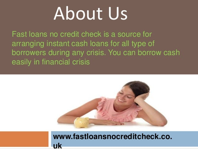 Fast Loans No Credit Check- Quick Financial Aid Without Any Delay - 웹