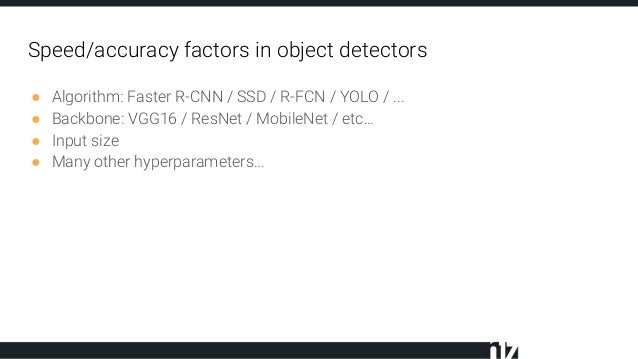 Fast methods for deep learning based object detection