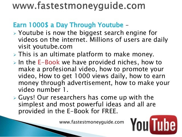 How To Get Easy Money >> How To Make Easy Money Without Invesment