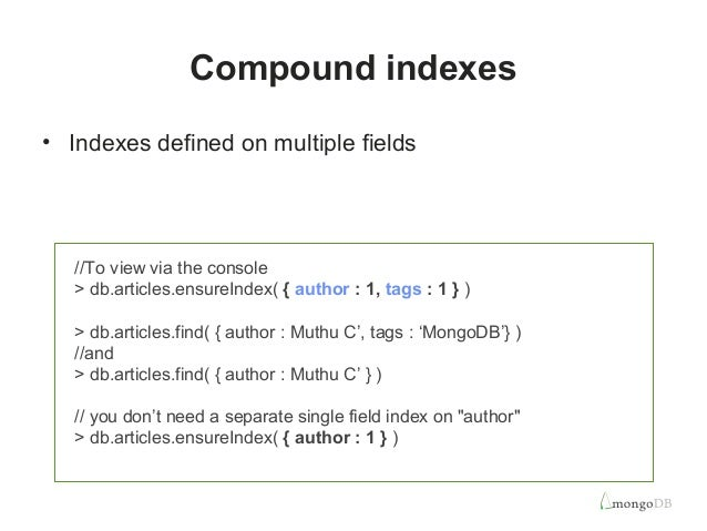 Fast querying indexing for performance (4)