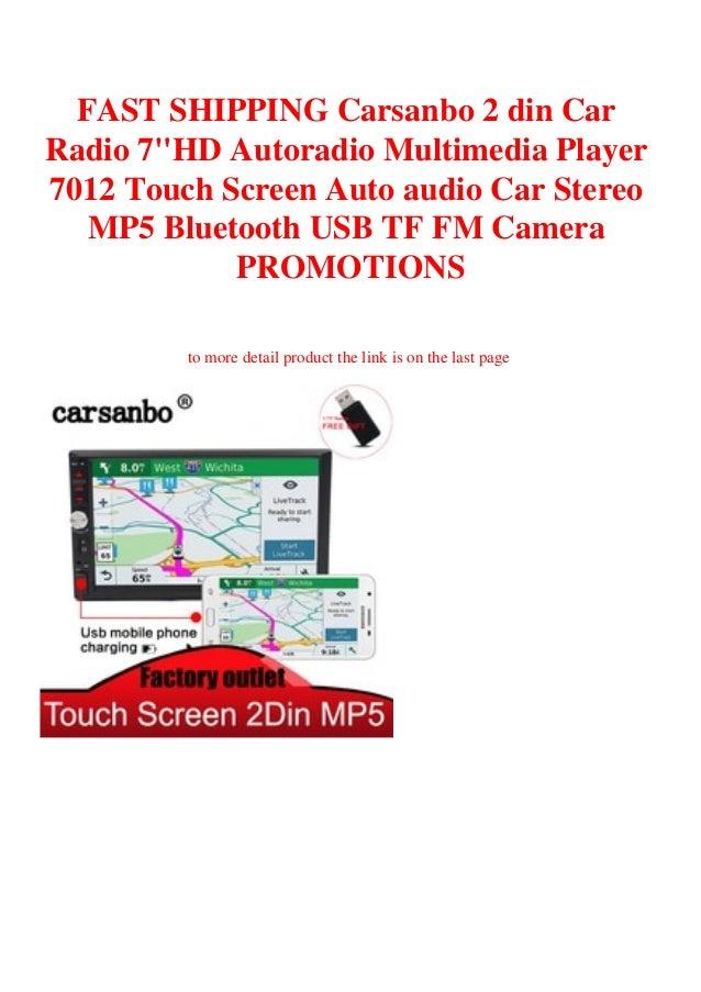 Shipping A Car/page/2 >> Fast Shipping Carsanbo 2 Din Car Radio 7hd Autoradio
