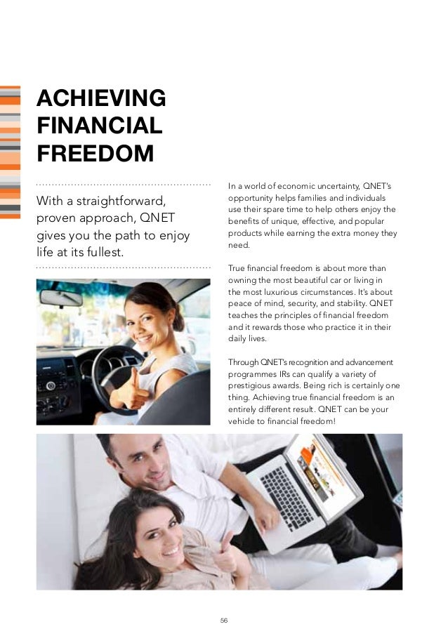 QNET Fast start Guide to success and financial freedom ...