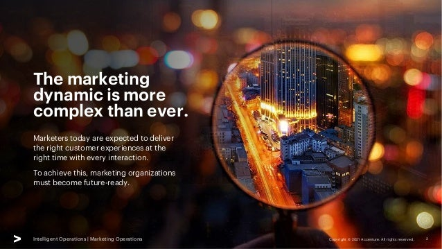 Intelligent Marketing Operations   SlideShare   Accenture Slide 2