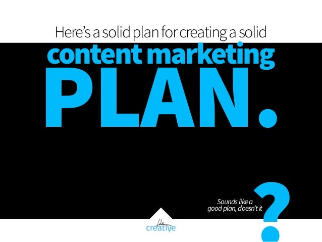 Fast Track Your Content Marketing Plan Slide 3