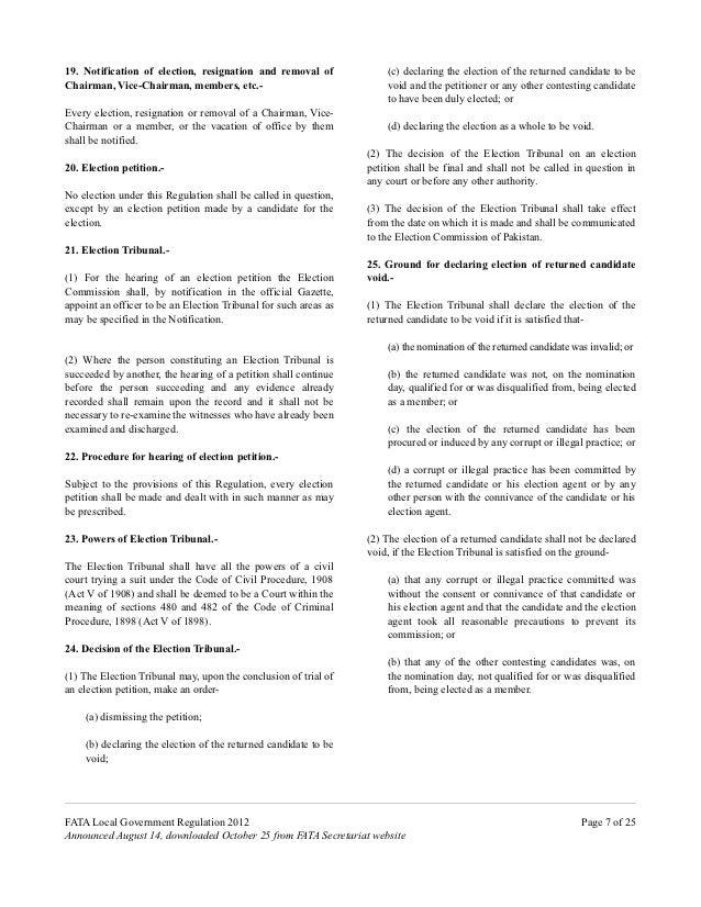 Local Government Regulation