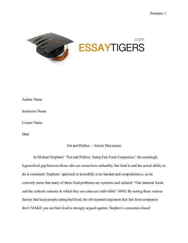 fat essay