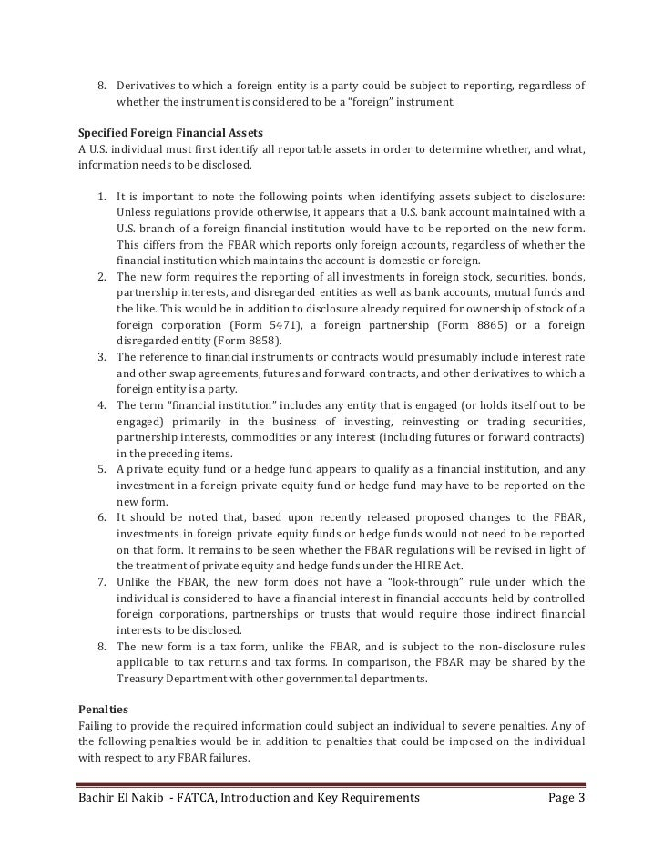8. Derivativestowhichaforeignentityisapartycouldbesubjecttoreporting,regardlessof       whethertheinstru...