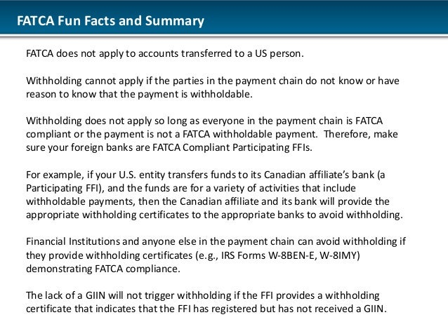 Foreign Account Tax Compliance Act Fatca Dsa Global Regulatory Co