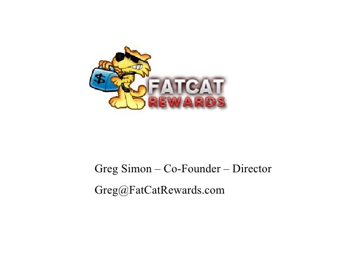 Greg Simon – Co-Founder – Director [email_address]