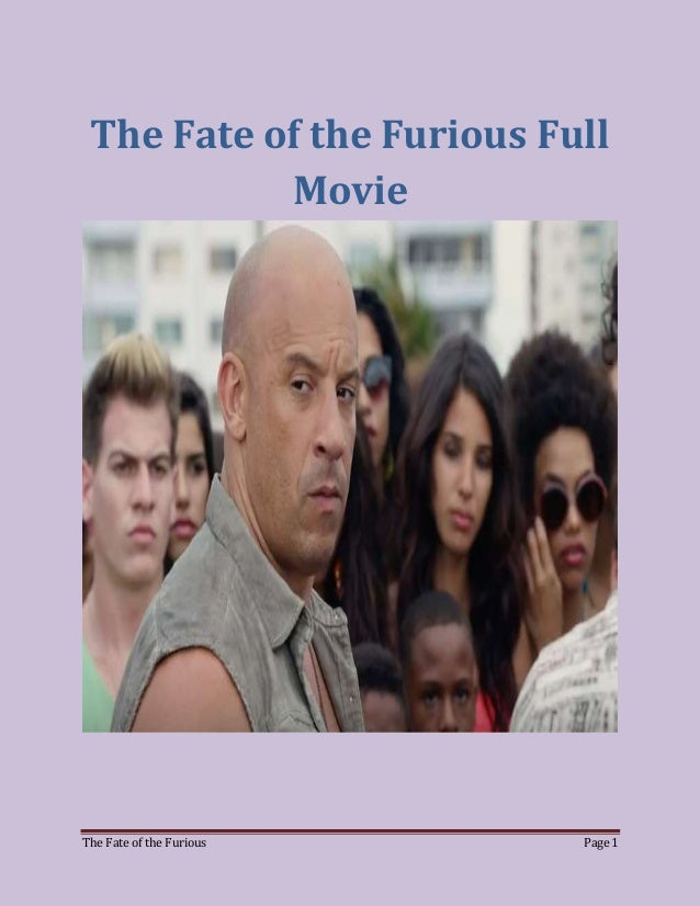 Watch Fast And Furious 8 Movie Full Movie