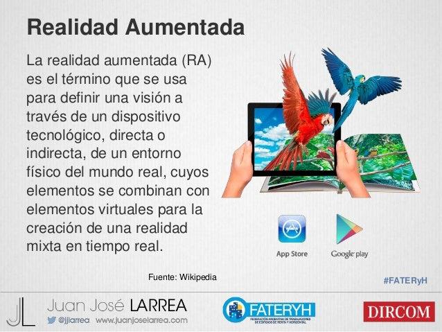 Realidad Aumentada Realidad Virtual