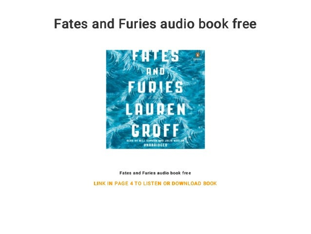 Fates And Furies Audio Book Free