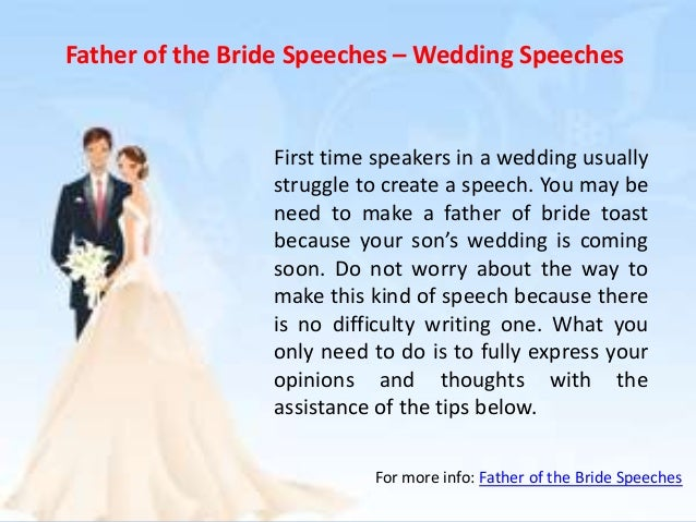 father of the bride speeches wedding speeches first time speakers in a wedding usually struggle
