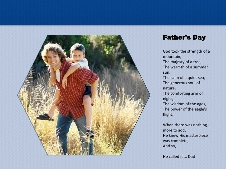 free father u2019s day powerpoint template
