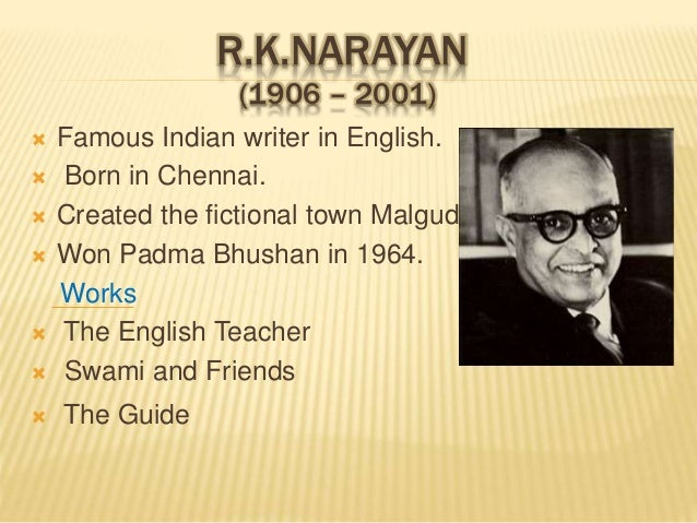 "malgudi days by r k narayan essay Rknarayan""s ""the english teacher"":  ""my days"" describes ""the english teacher"" as  it is obvious that sastri and krishna belong to the new ."