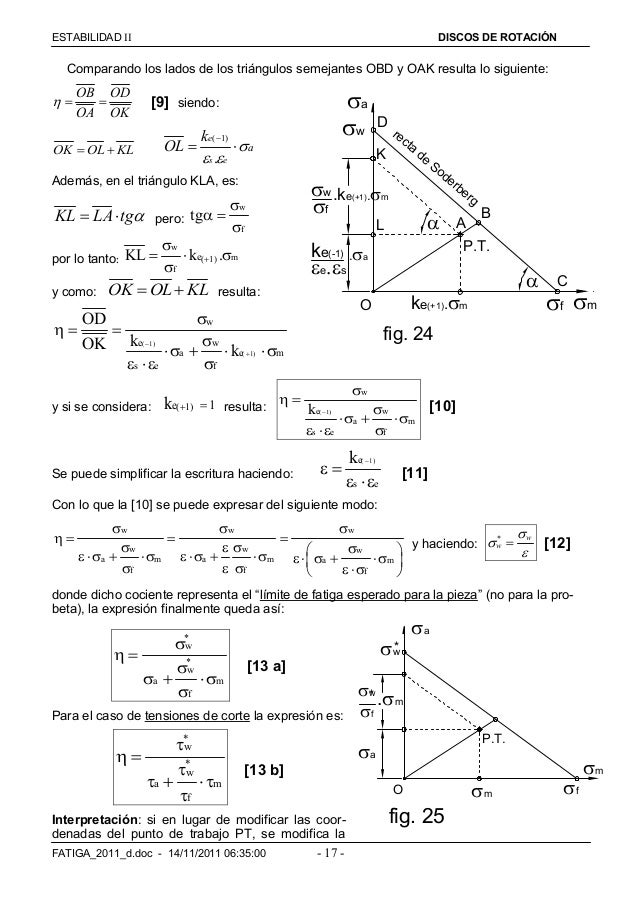 ESTABILIDAD  DISCOS DE ROTACIÓN FATIGA_2011_d.doc - 14/11/2011 06:35:00 - 17 - Comparando los lados de los triángulos se...