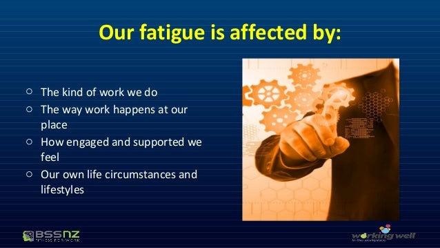 how to assess fatigue at work