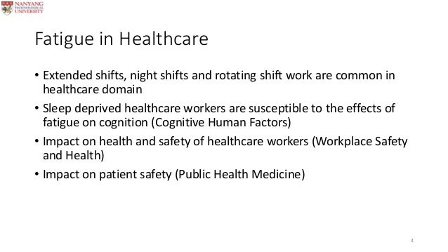 fatigue risk associated with shift work in icu nurses