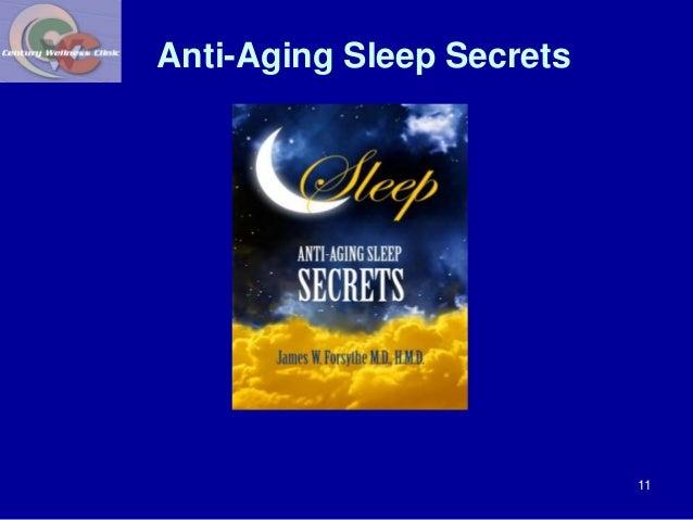 Anti-Aging Sleep Secrets  11