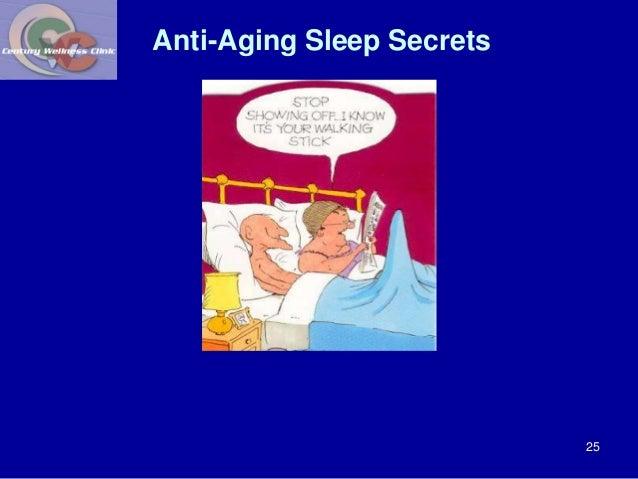 Anti-Aging Sleep Secrets  25