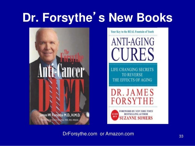 Dr. Forsythe's New Books  33  DrForsythe.com or Amazon.com