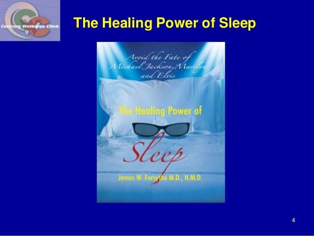 The Healing Power of Sleep  4