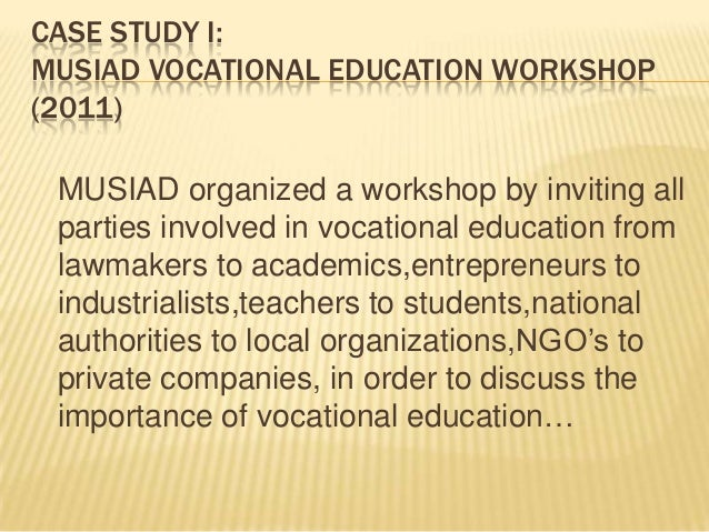 Importance of Technical & Vocational Institution
