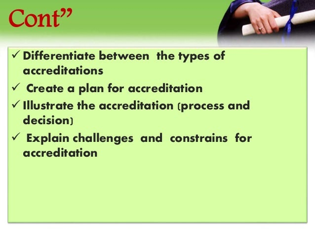 glossary of key terms in quality assurance and accreditation