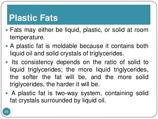 Characterstics Of Fats And Oil Amp Processing