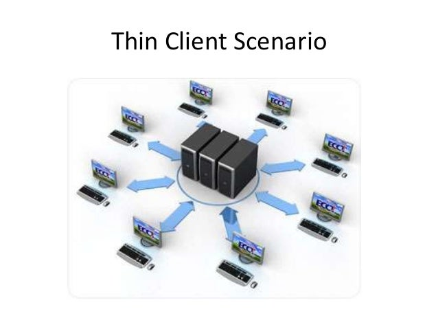 thin client vs fat client network What are some of the advantages and disadvantages of thin work processes come to a halt since every thin client connected to the network.