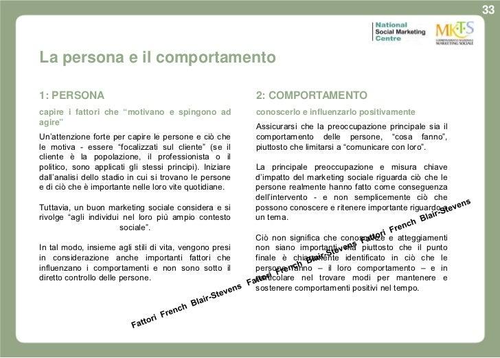 33La persona e il comportamento1: PERSONA                                                2: COMPORTAMENTOcapire i fattori ...