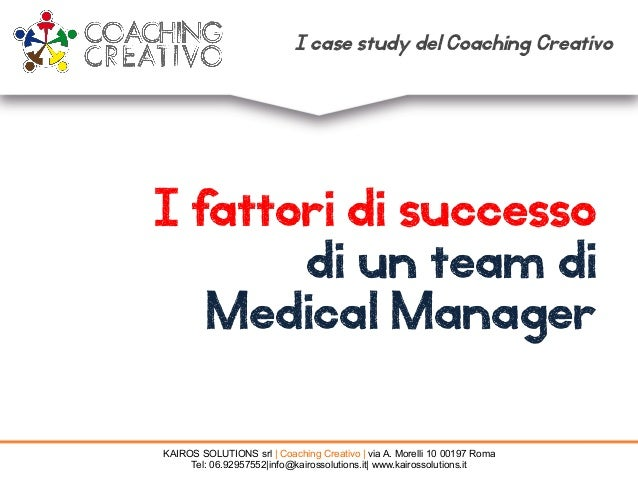 KAIROS SOLUTIONS srl | Coaching Creativo | via A. Morelli 10 00197 Roma Tel: 06.92957552|info@kairossolutions.it| www.kair...